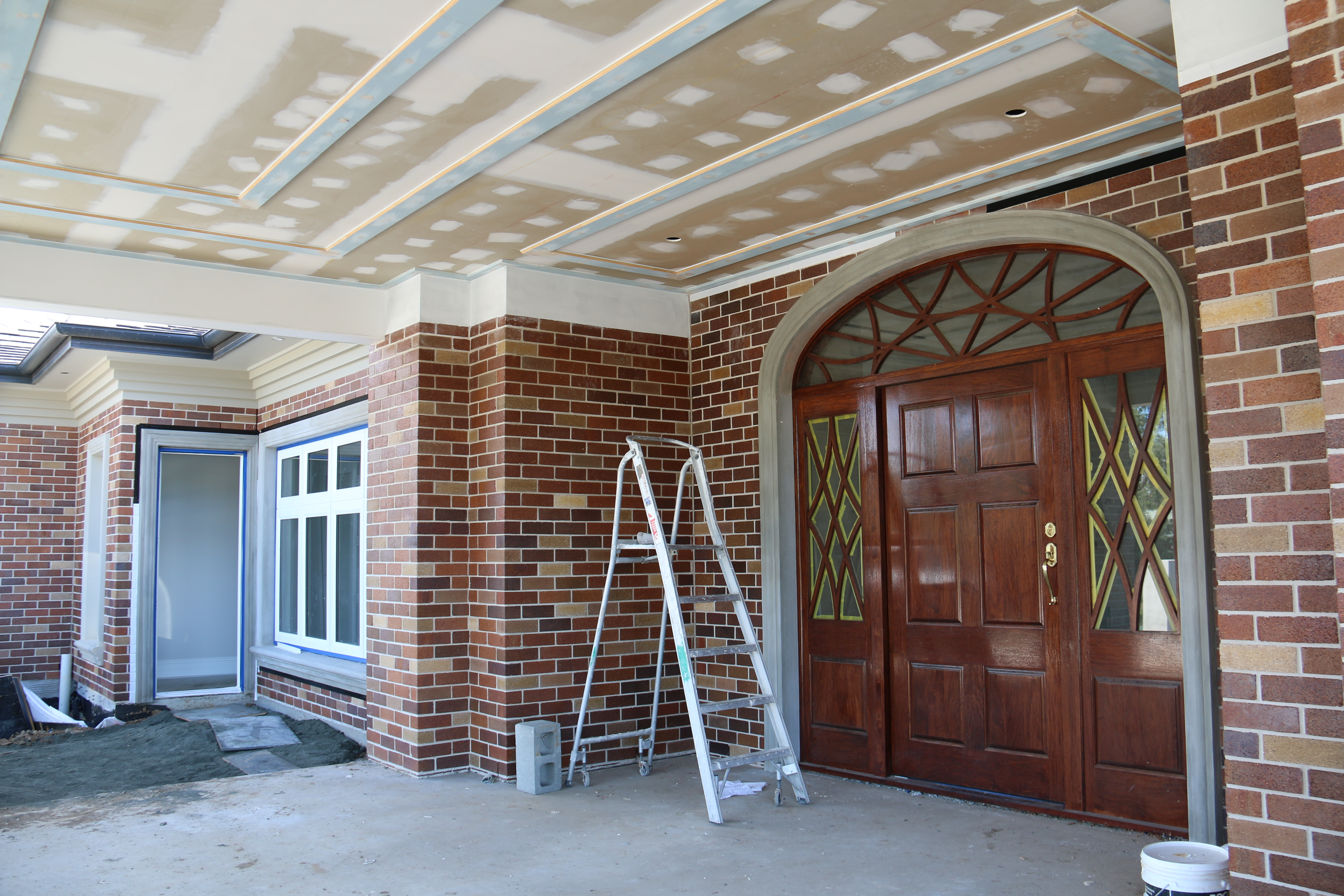 Custom Made Door (by Others) Installed By Hunter Prestige Homes